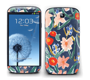 Flower Field Skin Galaxy S3