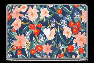 "Peinture fleurie Skin MacBook Pro 17"" -2015"