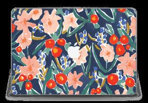 """Peinture fleurie Skin MacBook Pro Retina 15"""" 2015"""