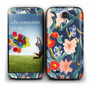 Flower Field Skin Galaxy S4