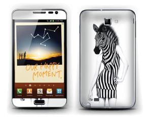 Party Zebra  Skin Galaxy Note