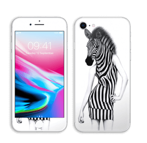 Party Zebra  skin IPhone 8