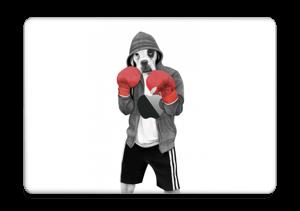 """Boxeador Callejero Vinilo  MacBook Pro 13"""" 2016-"""