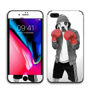 Boxeador Callejero Vinilo  IPhone 8 Plus
