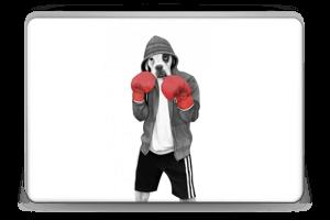 Street Boxer Skin Laptop 15.6