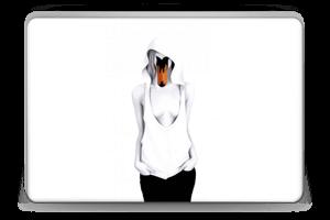Swan Lady Skin Laptop 15.6