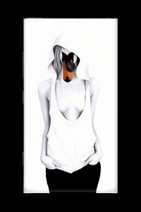 Swan Lady Skin Nokia Lumia 920