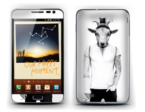 Hipster Goat Skin Galaxy Note