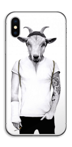 Hipster Goat Skin IPhone X