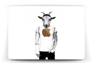 Hipster Goat Skin MacBook 12""