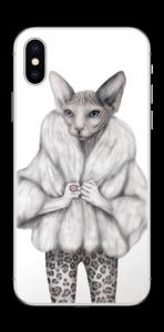 Little miss Purr-fect Skin IPhone X
