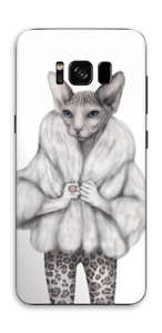 Little miss Purr-fect Skin Galaxy S8