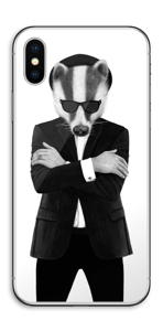 Blues Badger Skin IPhone X