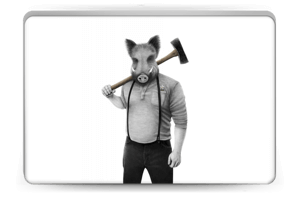 Jack Lumbar Skin Laptop 15.6