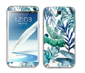 Tropical mix Skin Galaxy Note 2