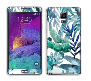 Tropical mix Skin Galaxy Note 4