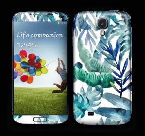 Tropical mix Skin Galaxy S4