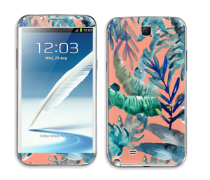 Tropical nature Skin Galaxy Note 2