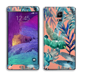 Tropical nature Skin Galaxy Note 4