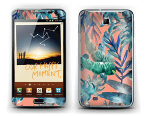 Tropical nature Skin Galaxy Note