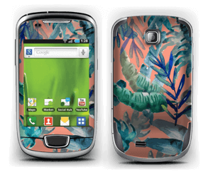 Tropical nature Skin Galaxy Mini