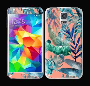 Tropical nature Skin Galaxy S5