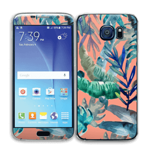 Tropical nature Skin Galaxy S6