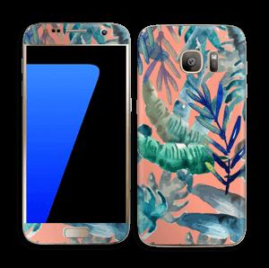 Tropical nature Skin Galaxy S7