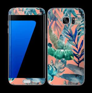 Tropical nature Skin Galaxy S7 Edge