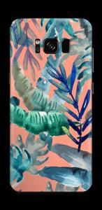 Tropische Äste Skin Galaxy S8