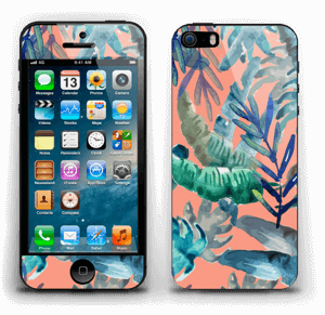 Tropical nature Skin IPhone 5s