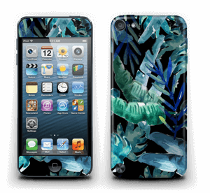 Tropiskt svart Skin IPod Touch 5th Gen