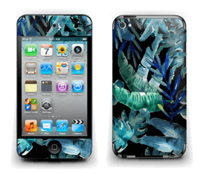 Tropical black Skin IPod Touch 4th Gen