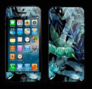 Tropical black Skin IPhone 5s