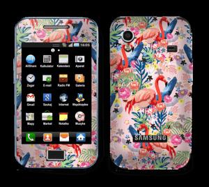 Flamingo Tropics Skin Galaxy Ace