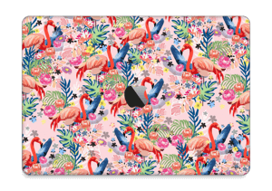 "Flamingo Tropics Skin MacBook Pro 13"" 2016-"