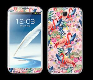 Flamingo Tropics Skin Galaxy Note 2