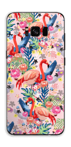 Flamingo Tropics Skin Galaxy S8 Plus