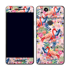 Flamingo Tropics Skin Pixel 2