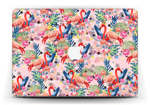 Flamingo Tropics Skin MacBook Air 13""