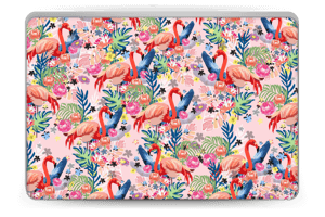 Flamingo Tropics Skin Laptop 15.6