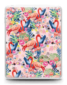 Flamingo Tropics Skin IPad 1