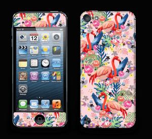 Flamingo Tropics Skin IPod Touch 5th Gen