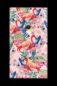 Flamingo Tropics Skin Nokia Lumia 920