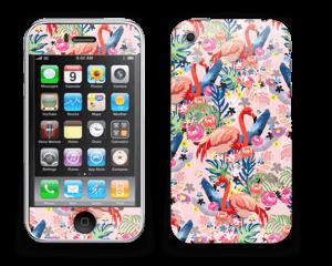 Flamingo Tropics Skin IPhone 3G/3GS