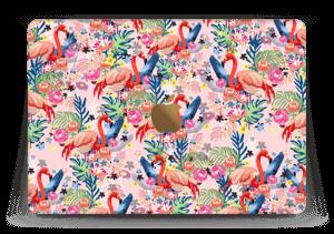 """Flamingo Tropics Skin MacBook 12"""""""