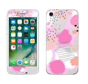 Abstract pink Skin IPhone 7