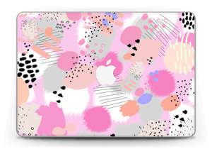"Abstraktes Rosa Skin MacBook Pro Retina 13"" 2015"