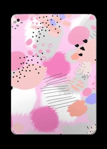 Abstract pink Skin IPad 2017