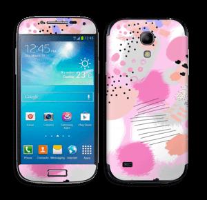 Abstract pink Skin Galaxy S4 Mini